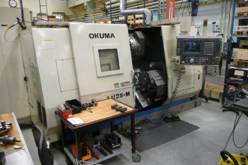 OKUMA LU-25-M BAUJAHR: 1996 - GEPFLEGTER ZUSTAND - OSP P 7000 L - 12.800 SPINDELSTUNDEN Image