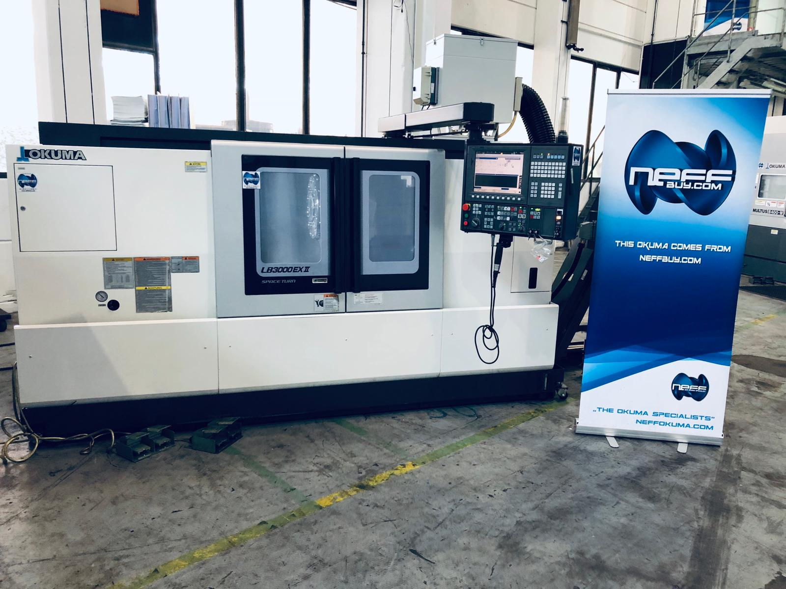 ***SOLD*** - OKUMA LB3000EX-II-MC 1000 Image